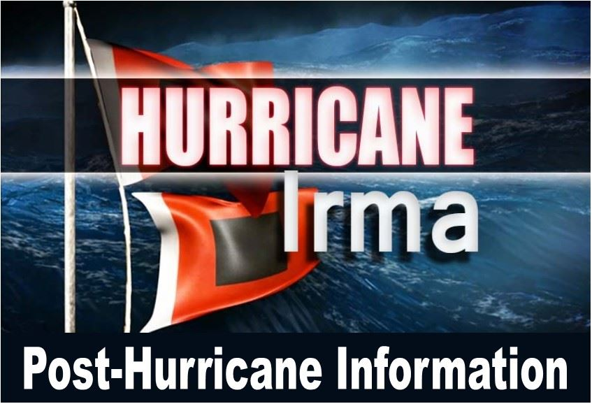 Post-Hurricane Info