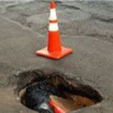 Image of Pothole for the Citizen Service Request