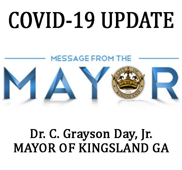COVID-19_MESSAGE FROM THE MAYOR_KingslandGeorgia