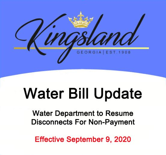 Water Bill Update