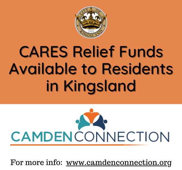 CARES Relief Funds Available to Residents in Woodbine & Kingsland  09092020
